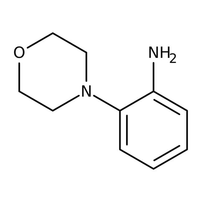 2-Morpholinoaniline, 97%, Maybridge™ Amber Glass Bottle; 10g 2-Morpholinoaniline, 97%, Maybridge™