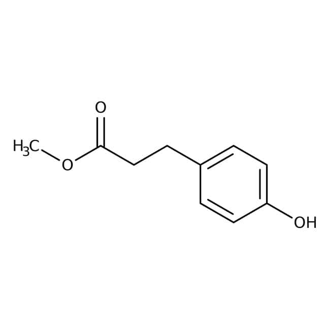 Methyl 3-(4-hydroxyphenyl)propionate, 98%, ACROS Organics