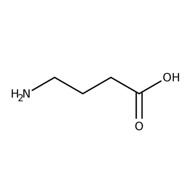 4-Aminobutyric acid, 99+%, ACROS Organics™ 2.5kg, Plastic bottle 4-Aminobutyric acid, 99+%, ACROS Organics™
