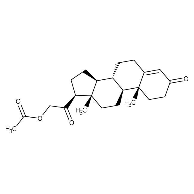 11-Deoxycorticosterone acetate, 97%, ACROS Organics™ 1g 11-Deoxycorticosterone acetate, 97%, ACROS Organics™