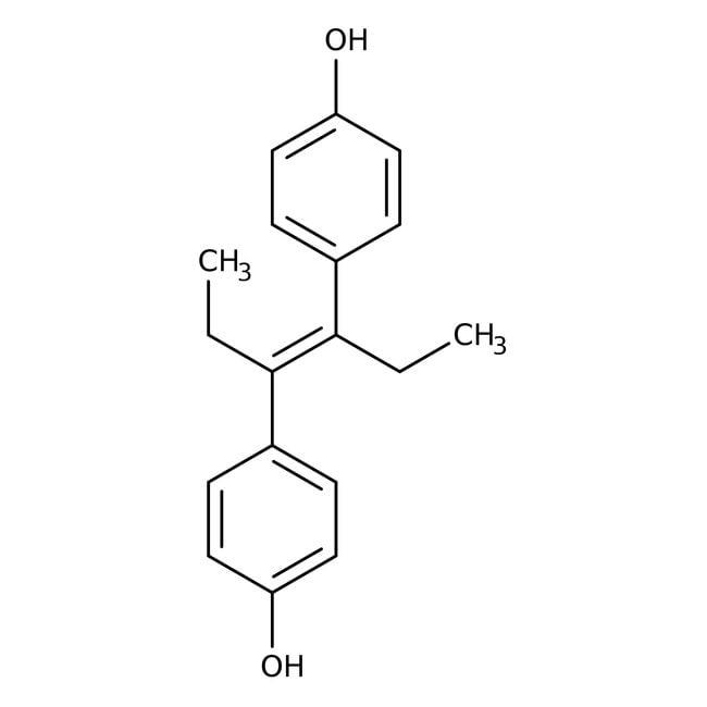 Diethylstilbestrol, 99%, ACROS Organics