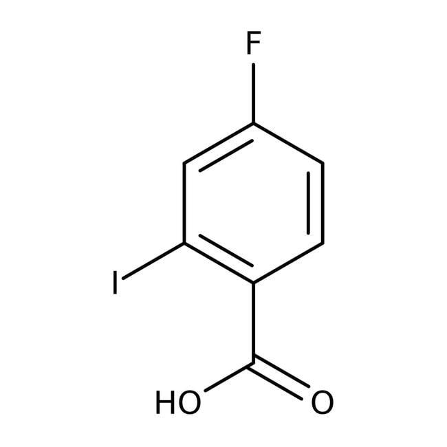Alfa Aesar™4-Fluoro-2-iodobenzoic acid, 97%