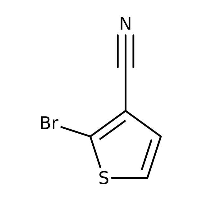 2-Bromothiophene-3-carbonitrile, 97%, Maybridge™ Amber Glass Bottle; 250mg 2-Bromothiophene-3-carbonitrile, 97%, Maybridge™