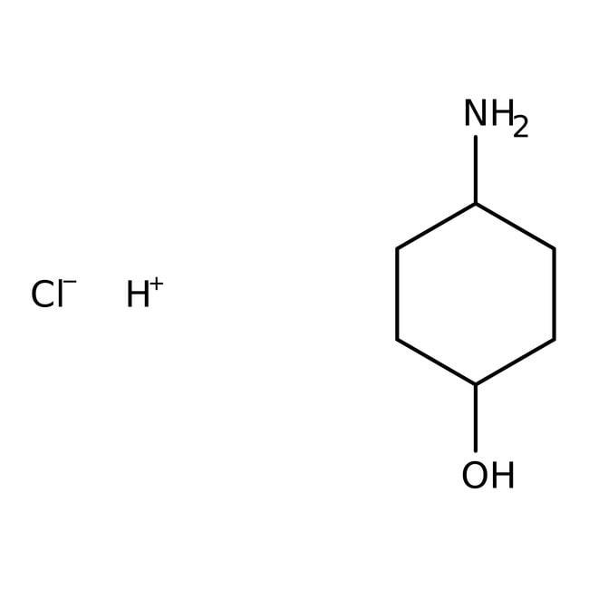 Alfa Aesar™cis-4-Hydroxycyclohexylamine hydrochloride, 95% 1g Alfa Aesar™cis-4-Hydroxycyclohexylamine hydrochloride, 95%