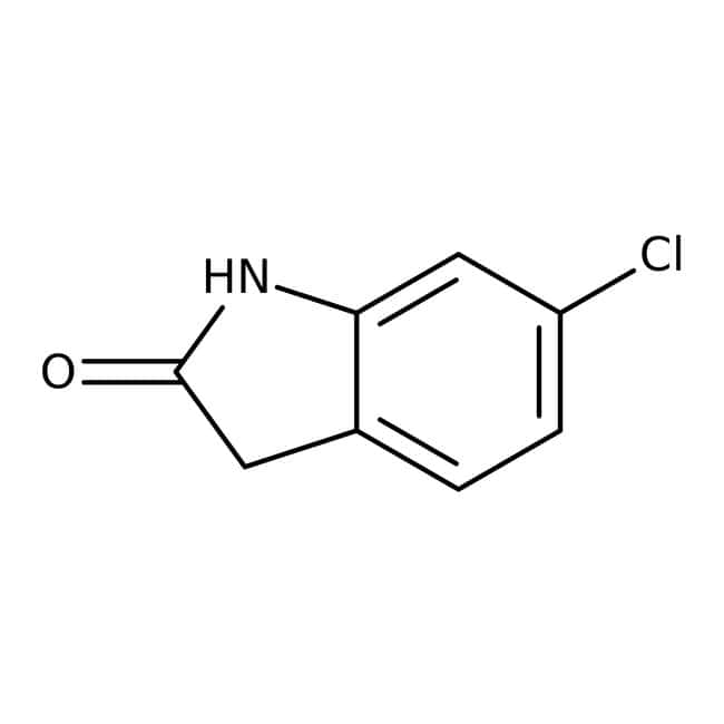6-chlorooxindole, 98%, ACROS Organics™ 25g; Glass bottle 6-chlorooxindole, 98%, ACROS Organics™