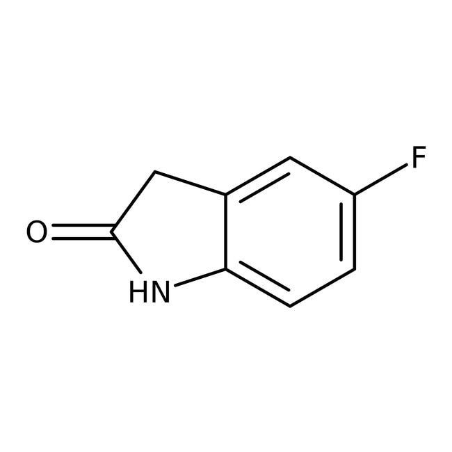5-Fluoro-2-oxindole, 97%, ACROS Organics