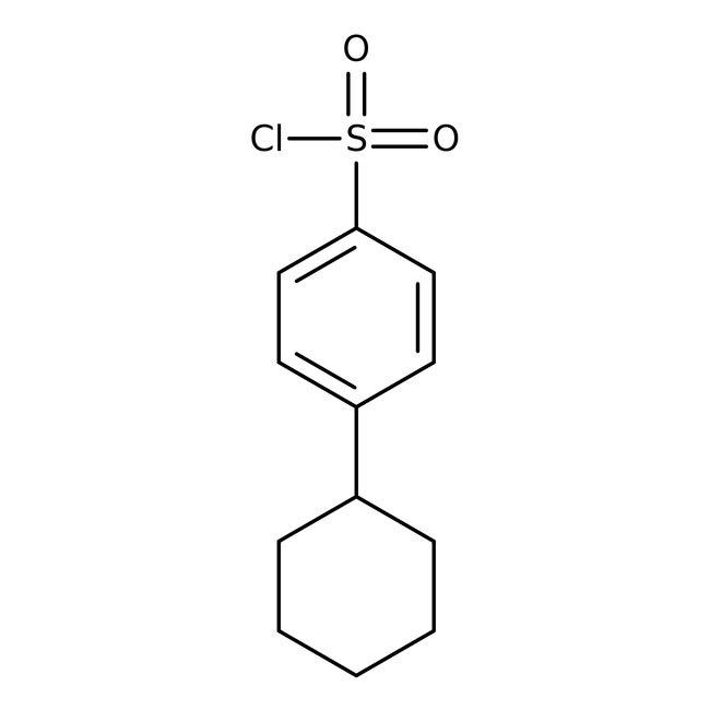 4-Cyclohexylbenzenesulfonyl chloride, 97%, ACROS Organics™