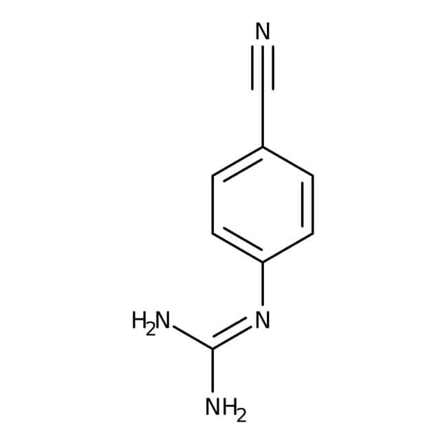 Alfa Aesar™N-(4-Cyanophenyl)guanidine, 97% 1g Alfa Aesar™N-(4-Cyanophenyl)guanidine, 97%
