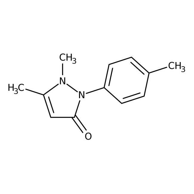 2,3-Dimethyl-1-(4-methylphenyl)-3-pyrazolin-5-one,  99%, Acros Organics