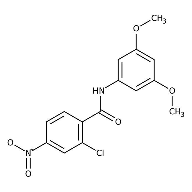 Alfa Aesar™2-Chloro-N-(3,5-dimethoxyphenyl)-4-nitrobenzamide, 97% 100mg Ver productos