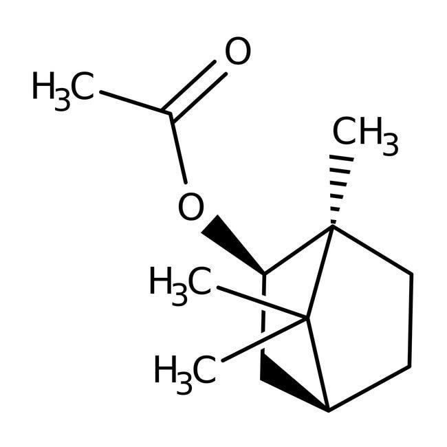 Alfa Aesar™L-(-)-Bornyl acetate, 95% 100g Alfa Aesar™L-(-)-Bornyl acetate, 95%