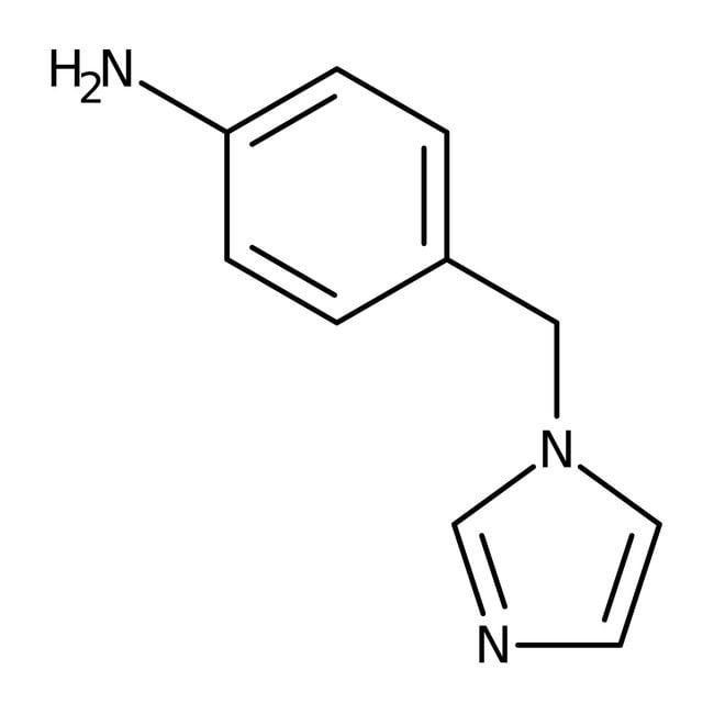 4-(1h-imidazol-1-ylmethyl)aniline, Maybridge™ 250mg 4-(1h-imidazol-1-ylmethyl)aniline, Maybridge™