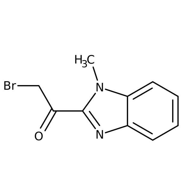 2-Brom-1-(1-methyl-1h-benzimidazol-2-yl)-1-ethanon, 97%, Maybridge Braunglasflasche, 1g 2-Brom-1-(1-methyl-1h-benzimidazol-2-yl)-1-ethanon, 97%, Maybridge