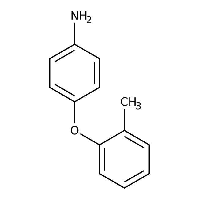 Alfa Aesar™4-(2-Methylphenoxy)aniline, 96% 1g Alfa Aesar™4-(2-Methylphenoxy)aniline, 96%