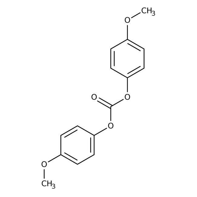 Alfa Aesar™Bis(4-methoxyphenyl) carbonate, 97% 10g Alfa Aesar™Bis(4-methoxyphenyl) carbonate, 97%