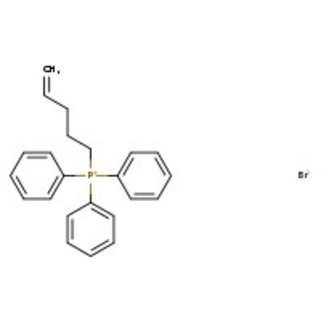 Alfa Aesar™(4-pentényl)bromure de triphénylphosphonium, 97 % 1g Alfa Aesar™(4-pentényl)bromure de triphénylphosphonium, 97 %