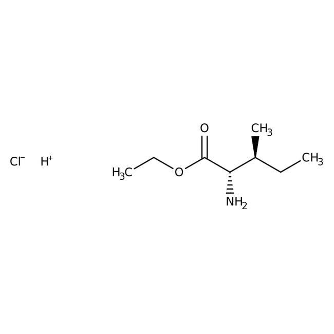 Alfa Aesar™L-Isoleucine ethyl ester hydrochloride, 98% 5g Alfa Aesar™L-Isoleucine ethyl ester hydrochloride, 98%