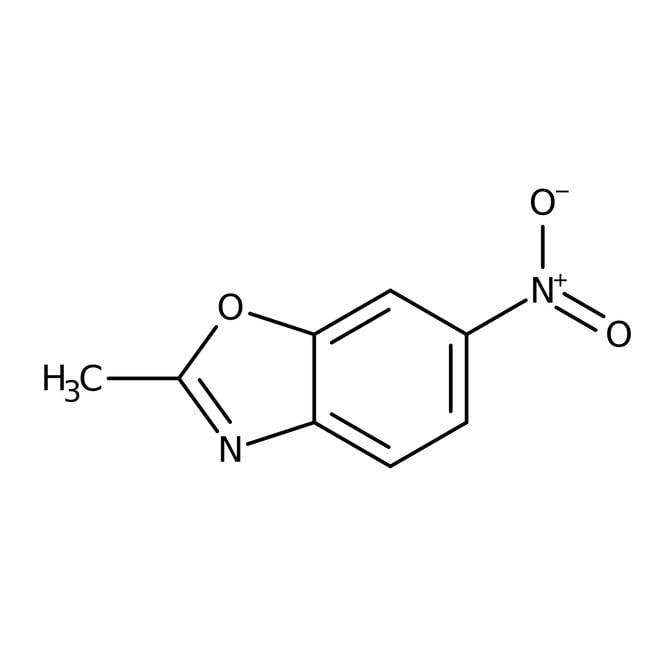 Alfa Aesar™2-Methyl-6-nitrobenzoxazole, 98% 1g Alfa Aesar™2-Methyl-6-nitrobenzoxazole, 98%