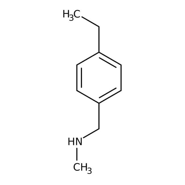N-(4-Ethylbenzyl)-N-methylamine, Maybridge™ Amber Glass Bottle; 1g N-(4-Ethylbenzyl)-N-methylamine, Maybridge™