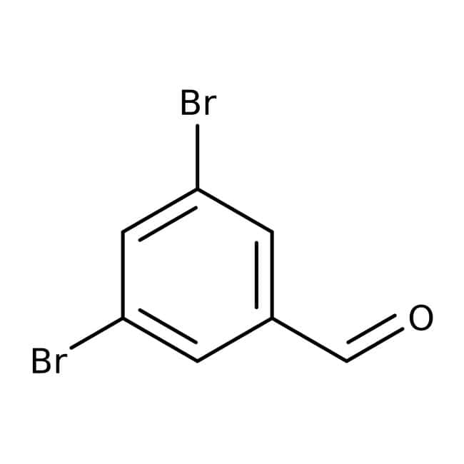 3,5-Dibromobenzaldehyde, 98+%, ACROS Organics™: Benzene and substituted derivatives Benzenoids