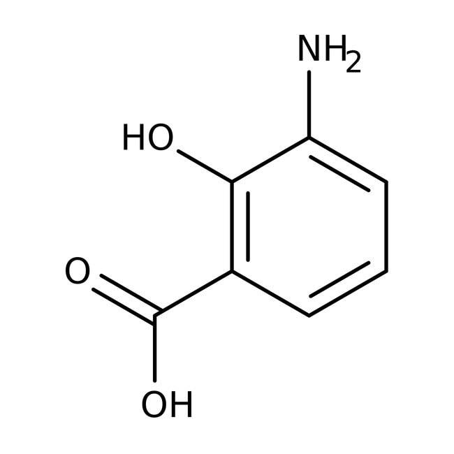 3-Aminosalicylic acid, 97%, ACROS Organics™ 1g 3-Aminosalicylic acid, 97%, ACROS Organics™