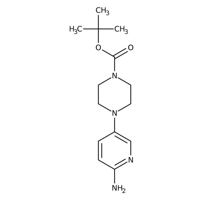 Alfa Aesar™4-(6-Amino-3-pyridyl)-1-Boc-piperazine, 97%