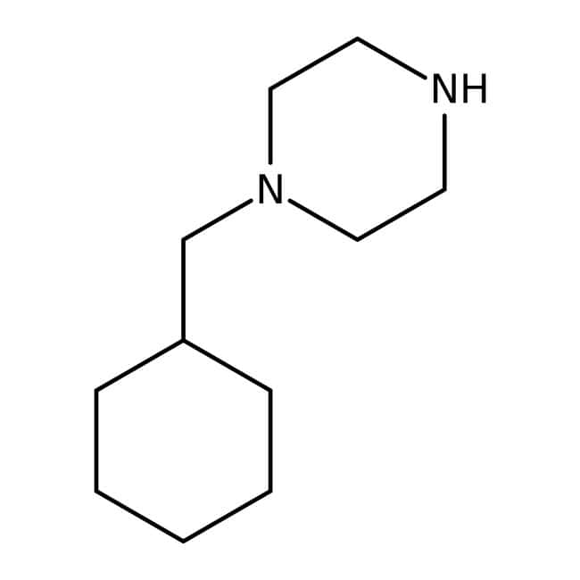 Alfa Aesar™ 1-(Cyclohexylmethyl)piperazine, 97%