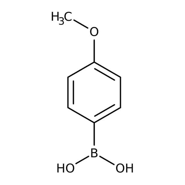 4-Methoxyphenylboronic acid, 97%, ACROS Organics™