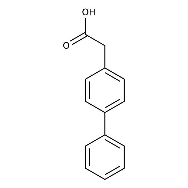 4-Biphenylacetic acid, 98%, ACROS Organics