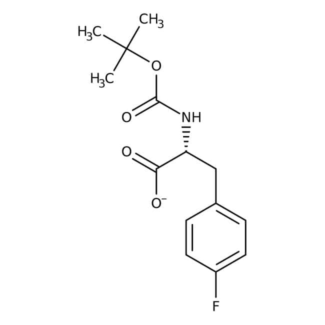 Alfa Aesar™N-Boc-4-Fluoro-D-Phenylalanin, 95% 5g Alfa Aesar™N-Boc-4-Fluoro-D-Phenylalanin, 95%
