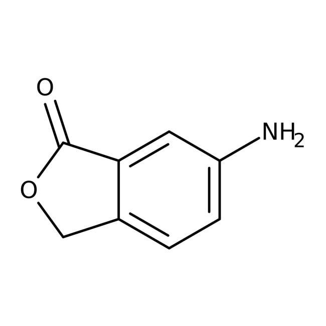 6-Amino-1,3-dihydroisobenzofuran-1-one, 95%, Maybridge™ Amber Glass Bottle; 10g prodotti trovati