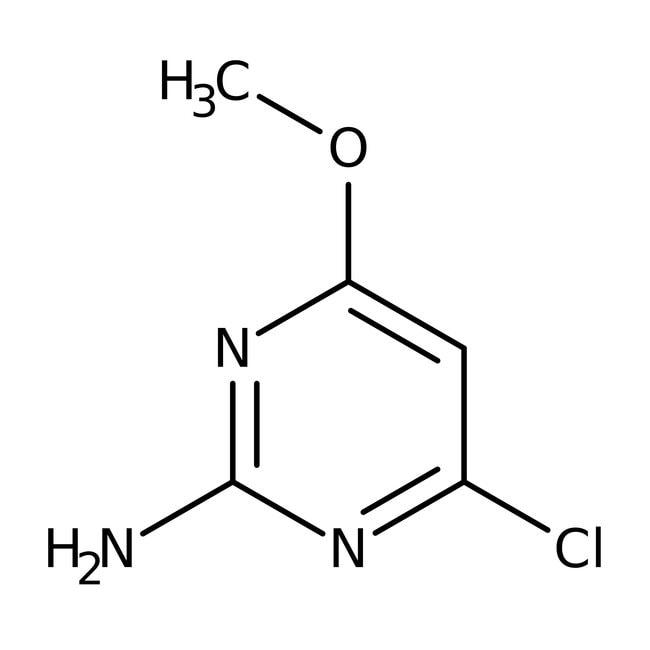 2-Amino-4-chloro-6-methoxypyrimidine, 95%, ACROS Organics