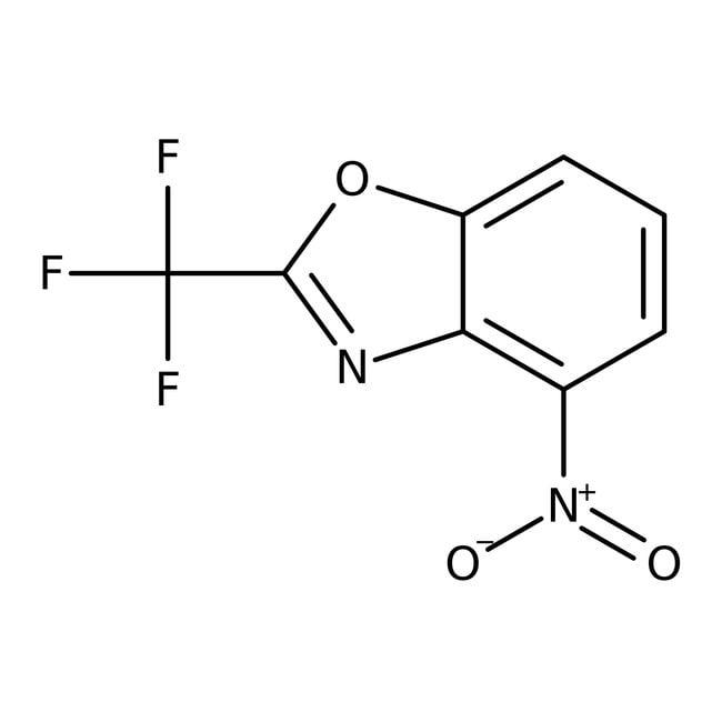 Alfa Aesar™4-Nitro-2-(trifluoromethyl)benzoxazole, 97% 5g Alfa Aesar™4-Nitro-2-(trifluoromethyl)benzoxazole, 97%