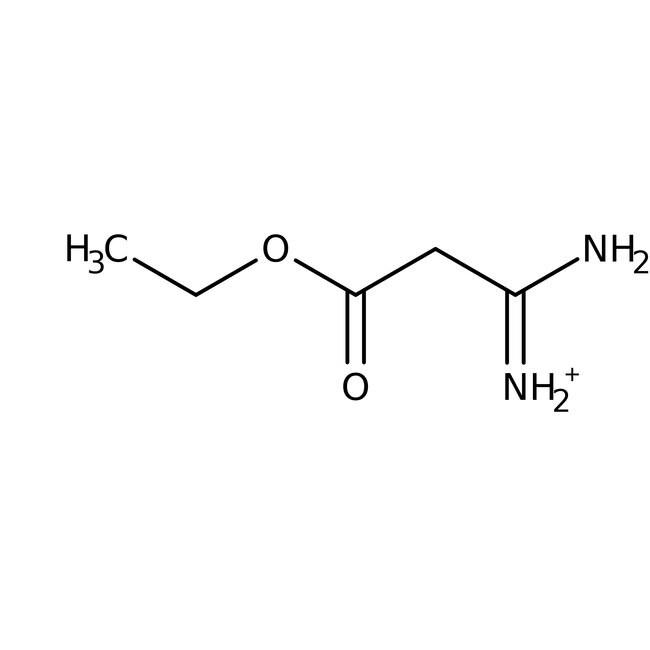 Alfa Aesar™Ethyl 2-amidinoacetate hydrochloride, 95% 1g Alfa Aesar™Ethyl 2-amidinoacetate hydrochloride, 95%