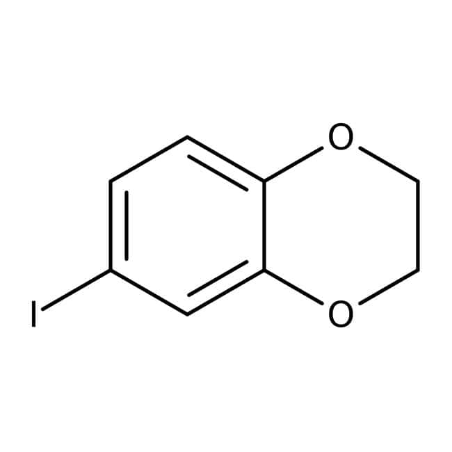 6-Iodo-2,3-dihydro-1,4-benzodioxine, 97%, Maybridge™
