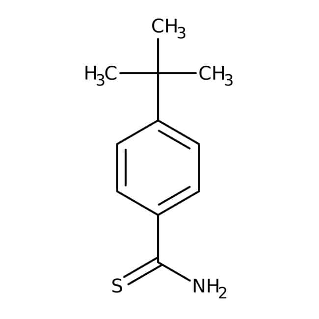 4-(tert-butyl)benzol-1-Carbothioamid, ≥95 %, Maybridge Braunglasflasche, 1 g 4-(tert-butyl)benzol-1-Carbothioamid, ≥95 %, Maybridge