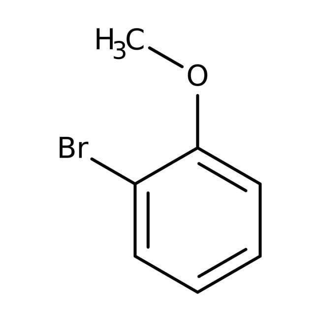 2-Bromoanisole, 97%, ACROS Organics™ 100mL; Glass bottle prodotti trovati