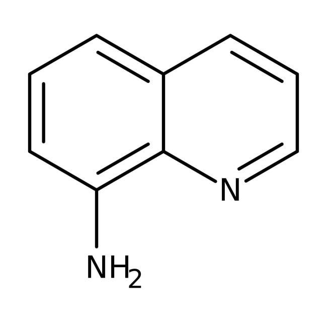 8-Aminoquinoline, 98+%, ACROS Organics™ 5g; Glass bottle 8-Aminoquinoline, 98+%, ACROS Organics™