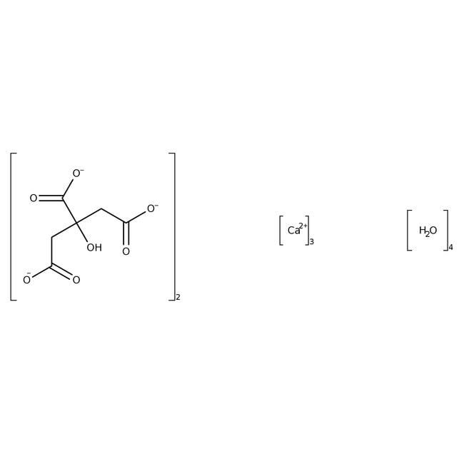 Calcium citrate tribasic tetrahydrate, 98+%, for analysis, Acros Organics