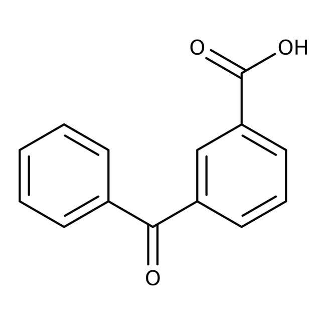 3-Benzoylbenzoic acid, 99%, ACROS Organics™ Glass bottle; 25g 3-Benzoylbenzoic acid, 99%, ACROS Organics™