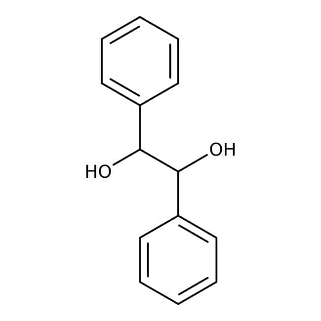 meso-1,2-Diphenyl-1,2-ethanediol, 95%, ACROS Organics™