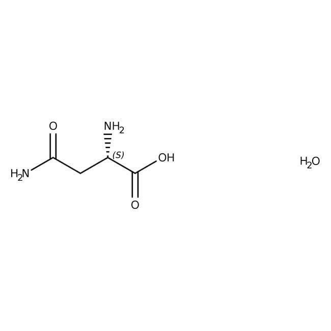 L(+)-Asparagine monohydrate, 99%, ACROS Organics™ Glass bottle; 1kg L(+)-Asparagine monohydrate, 99%, ACROS Organics™