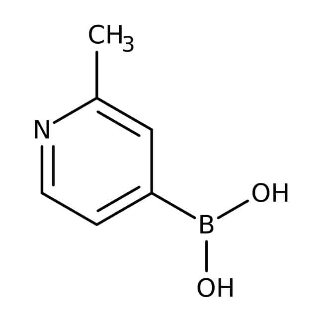 2-Methylpyridine-4-boronic acid, 95%, Acros Organics™  2-Methylpyridine-4-boronic acid, 95%, Acros Organics™
