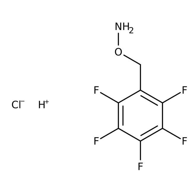 O-(2,3,4,5,6-Pentafluorobenzyl)hydroxylamine hydrochloride, 98%, Acros Organics