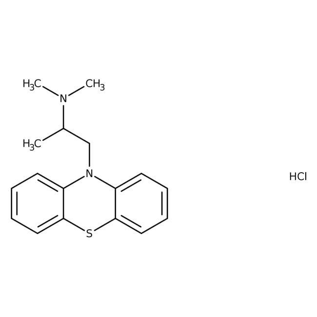 Promethazine hydrochloride, ACROS Organics™ 25g Promethazine hydrochloride, ACROS Organics™