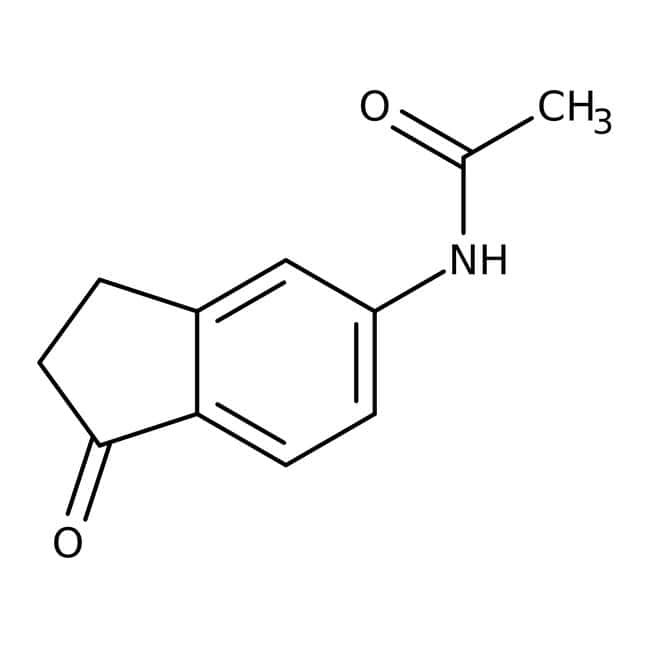 N1-(1-Oxo-2,3-dihydro-1H-inden-5-yl)acetamid, 97%, Maybridge 5g N1-(1-Oxo-2,3-dihydro-1H-inden-5-yl)acetamid, 97%, Maybridge