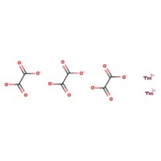 Alfa Aesar™Thulium(III) oxalate hydrate, REacton™, 99.9% (REO) 10g Alfa Aesar™Thulium(III) oxalate hydrate, REacton™, 99.9% (REO)