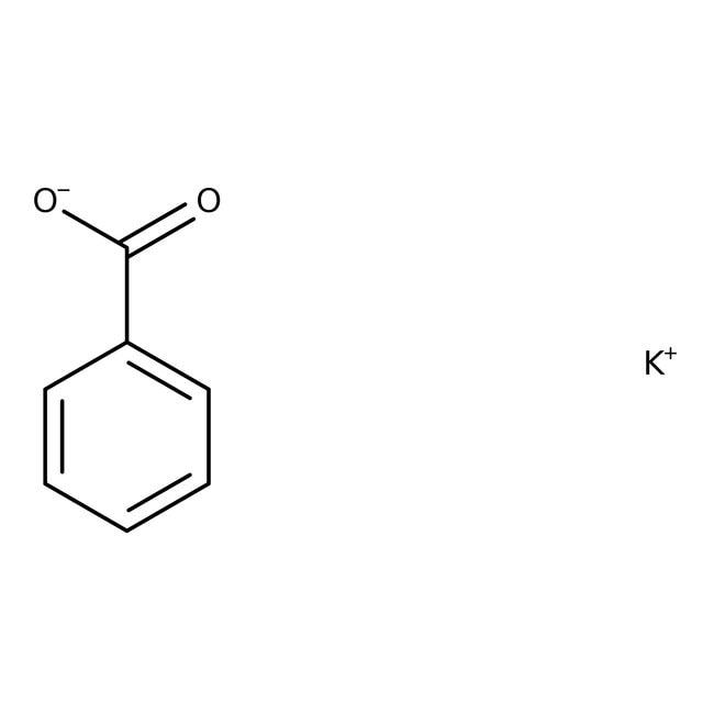 Potassium benzoate, 99%, Alfa Aesar™ 1000g Potassium benzoate, 99%, Alfa Aesar™