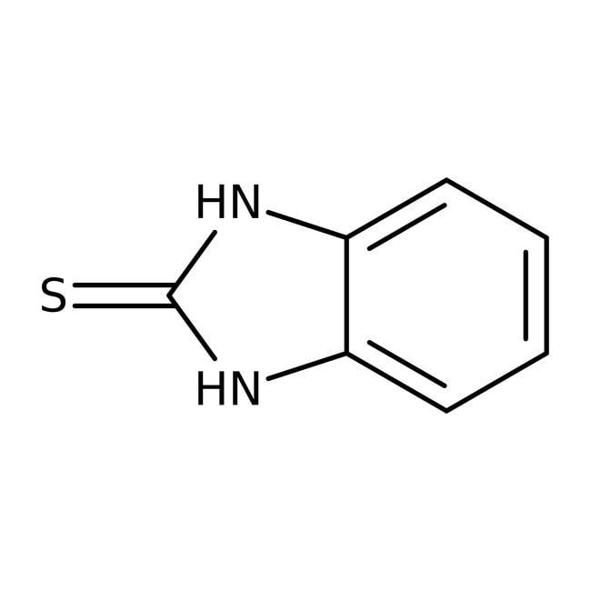 2-Mercaptobenzimidazole, 98%, ACROS Organics™