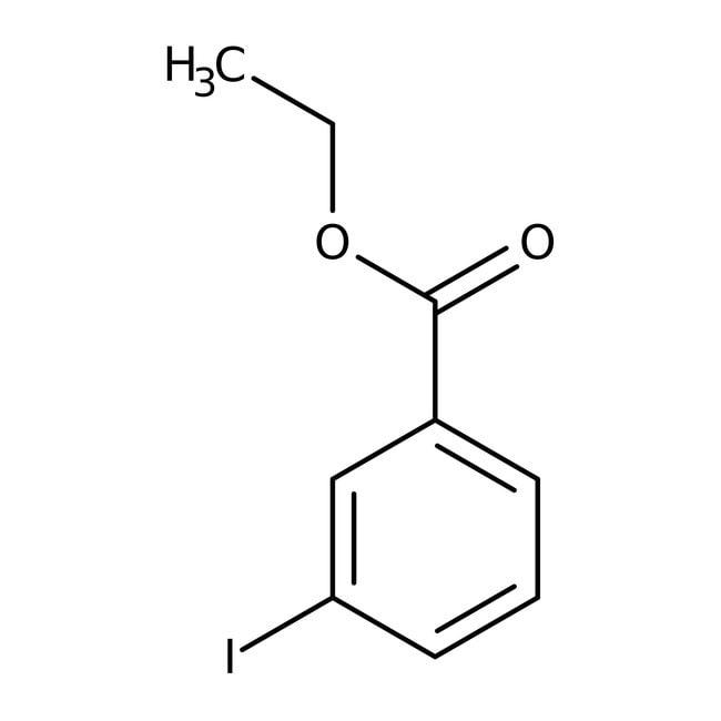 Alfa Aesar™3-Yodobenzoato de etilo, 99% 10g Alfa Aesar™3-Yodobenzoato de etilo, 99%